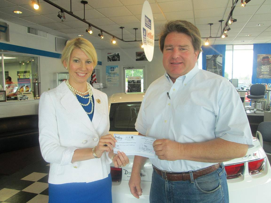 Doug Henry Farmville Nc >> Doug Henry Chevrolet Buick Gmc Of Farmville Donated 5 000 To The