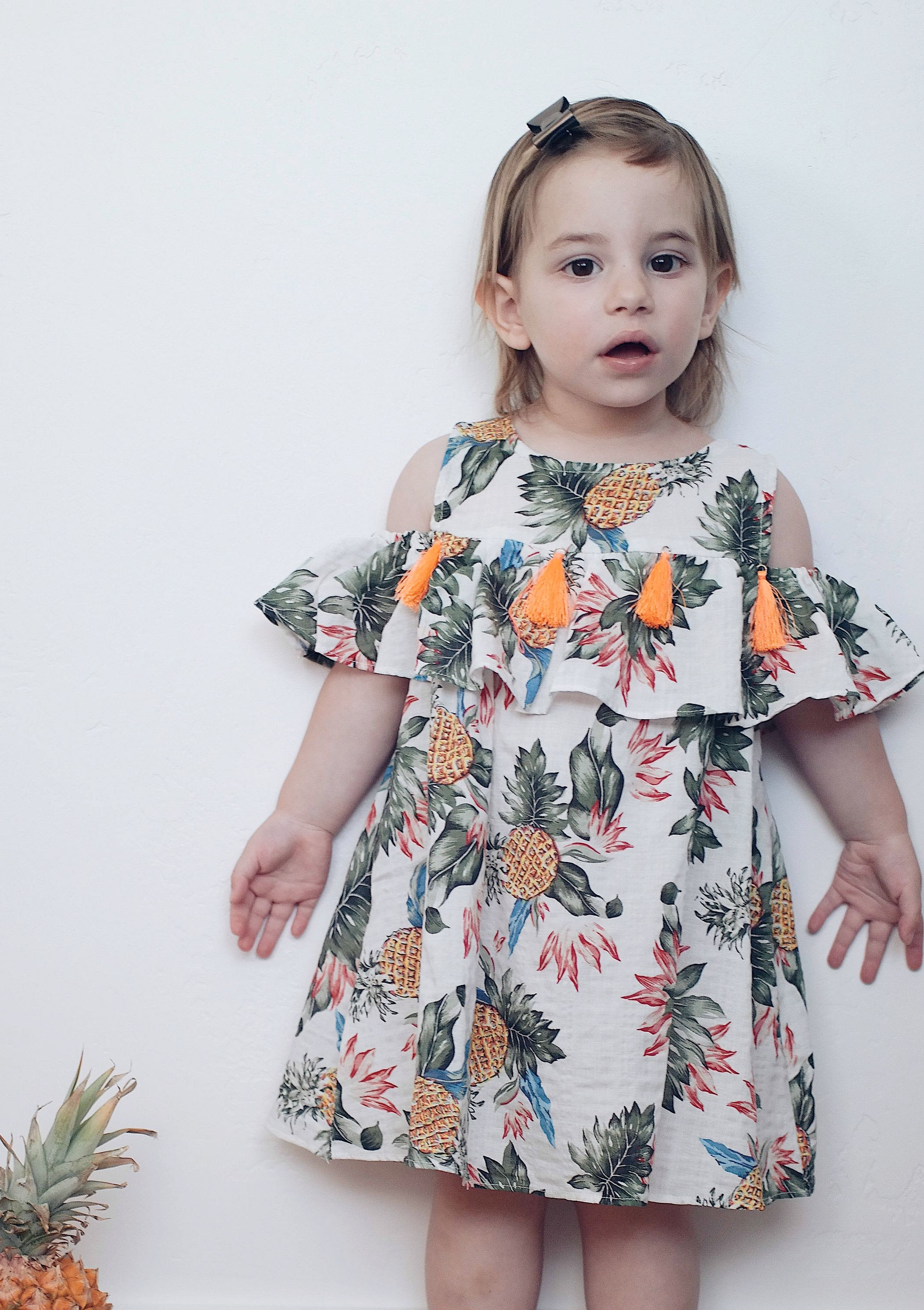 5965af0039de5 Pineapple Summer Dress