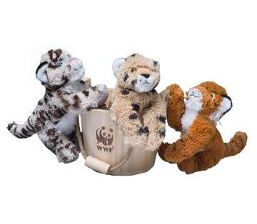 World Wildlife Fund | WWF Gift Center. tub of cubs adoption kit.