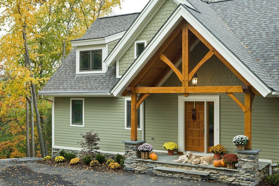 James Hardie Mountain Sage Siding Exterior Contemporary