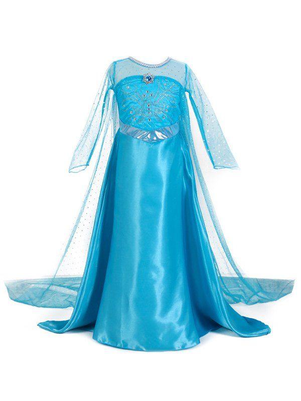 $11.60 Princess Cosplay Dresses Frozen Dress
