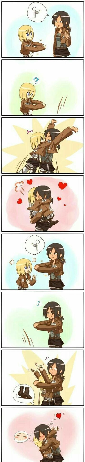 Komiksy- Yuri