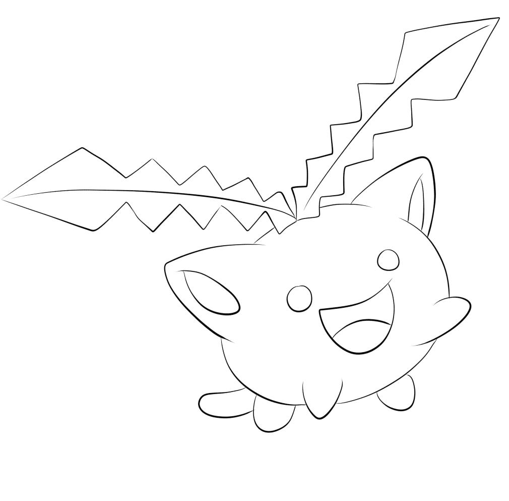 187 Hoppip Pokemon Kleurplaat Pokemon Kleurplaten Tweede
