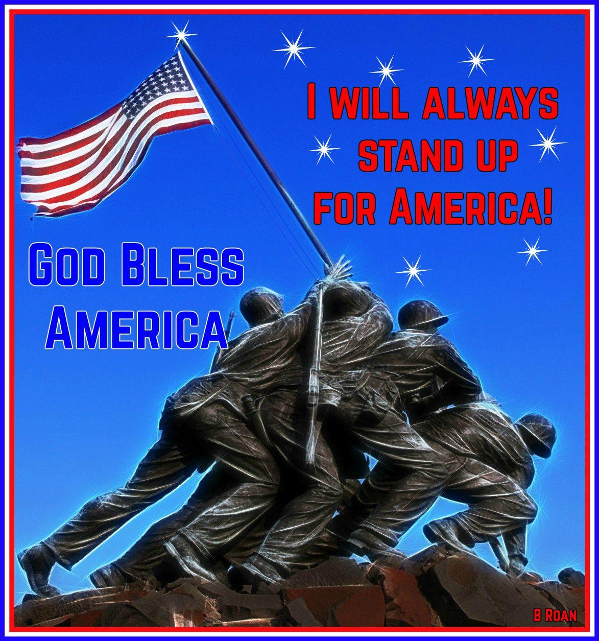 God bless america united states marine corps us marine