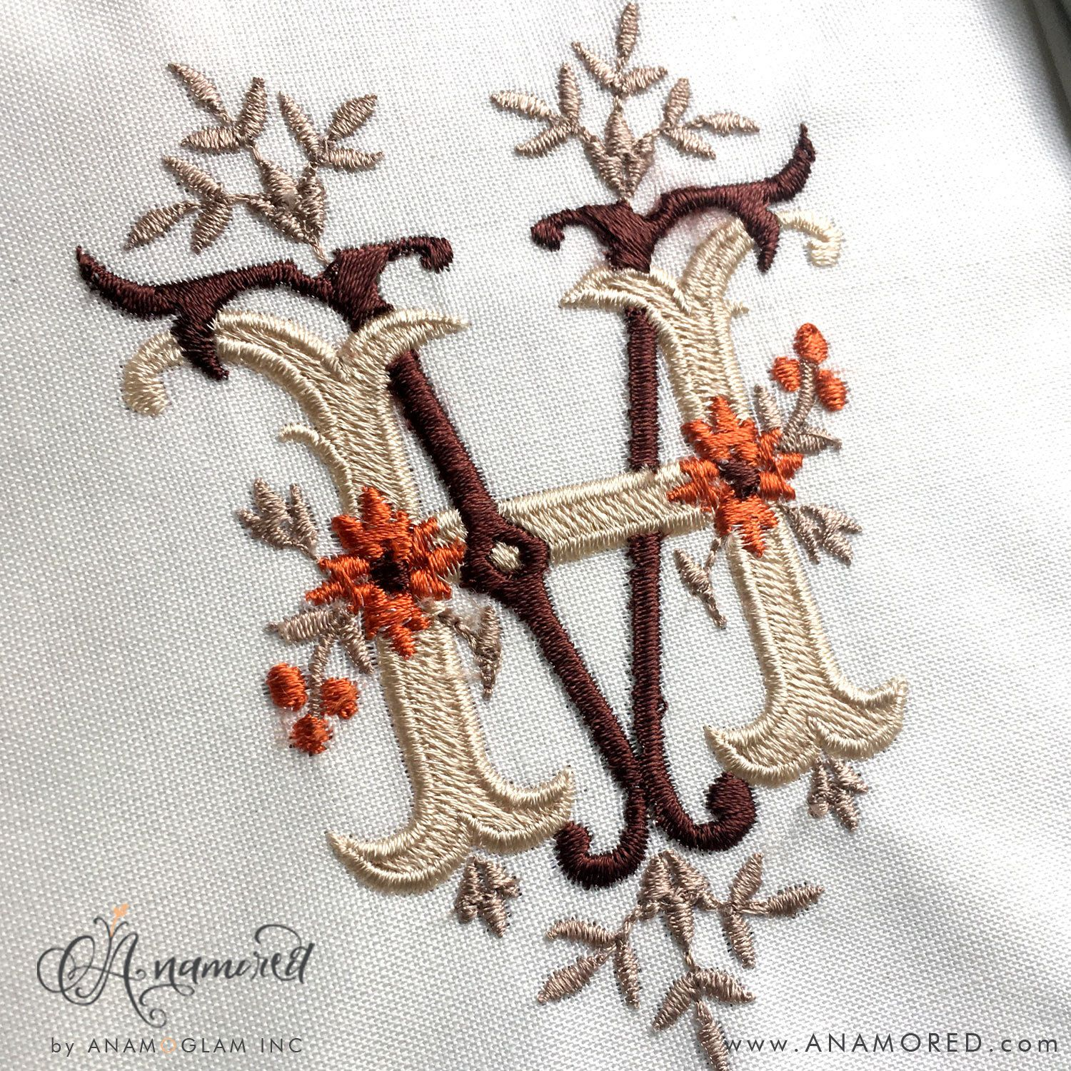 Choose Your Initials for Monogrammed