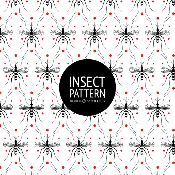 Insect seamless pattern with dots #AD , #SPONSORED, #AFFILIATE, #seamless, #pattern, #dots, #Insect