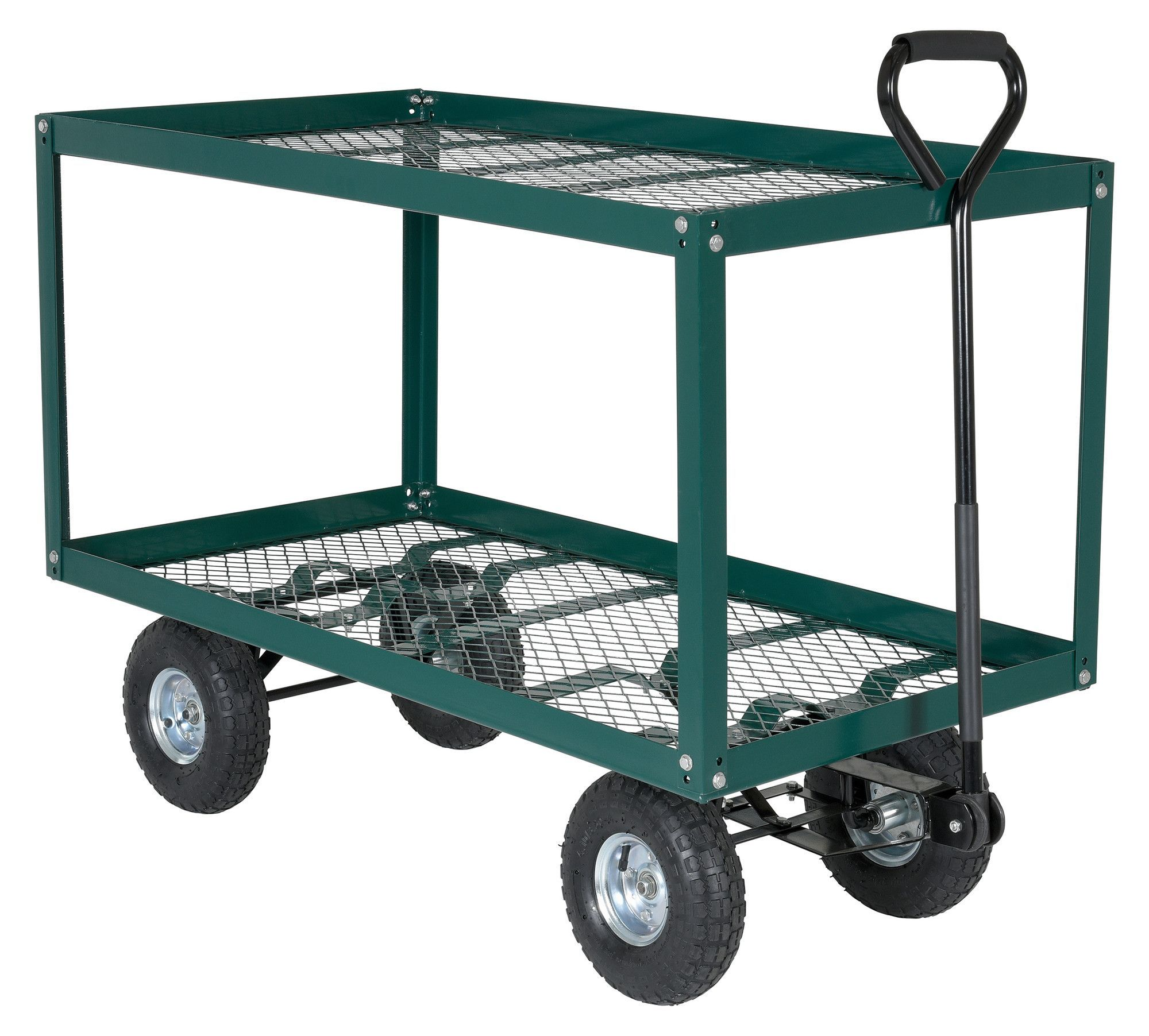 300 lbs Two Shelf Landscape Cart