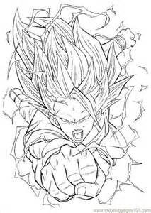 Printable Coloring Pages Dragon Ball Z 3 Dragon Ball Art