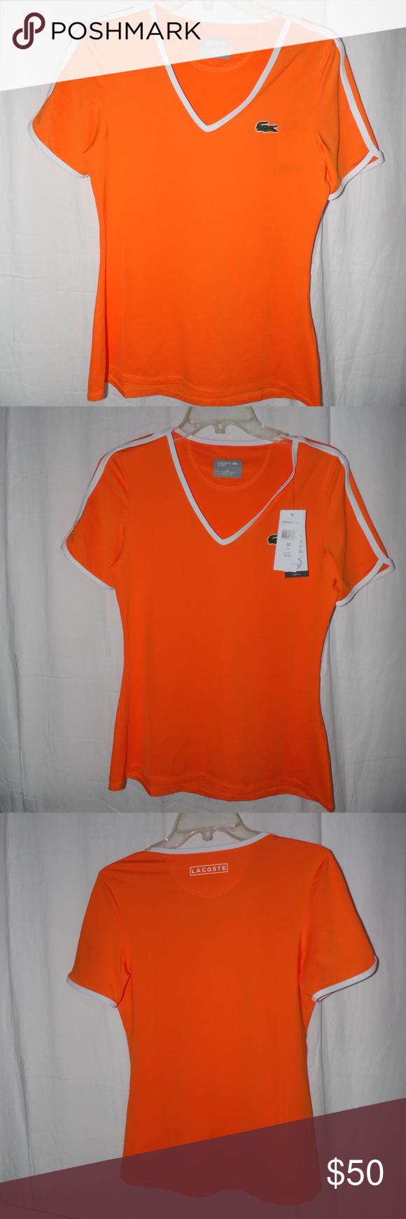 POLO Sport Ralph Lauren Performance Bright Orange T-Shirt~ NWT~