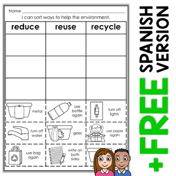 16+ Reduce reuse recycle worksheets Info