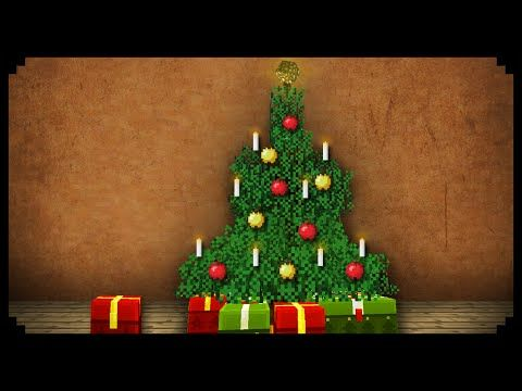 Minecraft How To Make A Christmas Tree Youtube Christmas Tree Christmas Minecraft