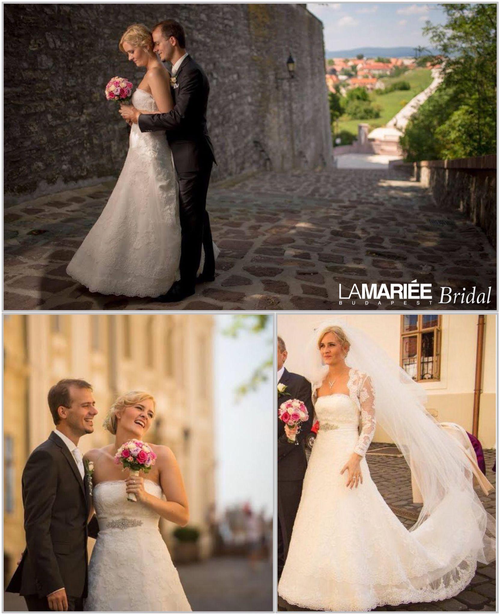 Julia menyasszony by La Mariée Budapest - Ugaz esküvői ruha by Pronovias 80edc6f16b
