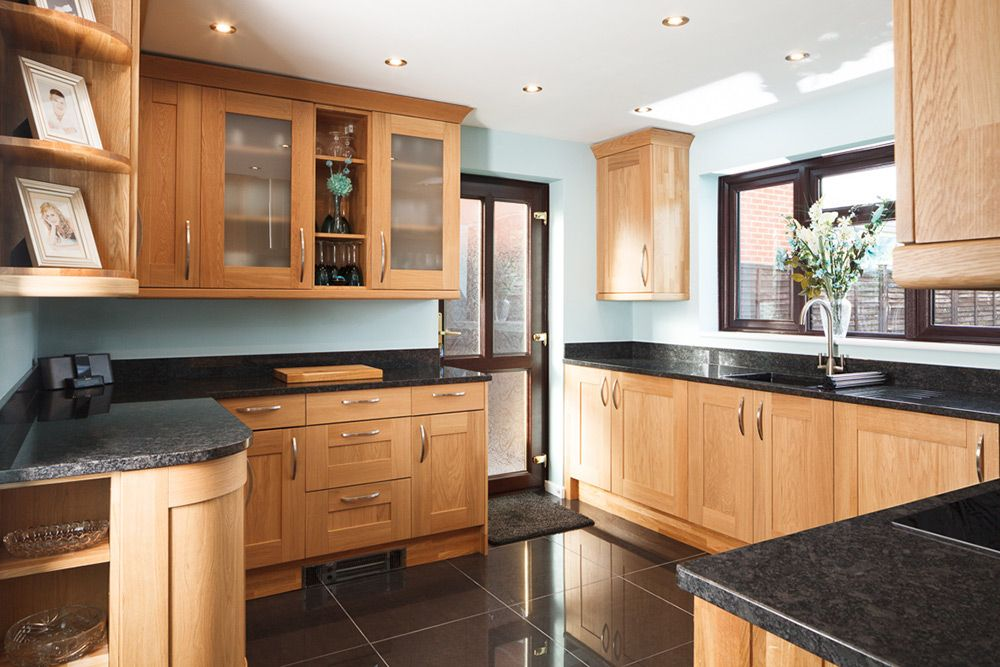 Oak Solid Wood Kitchen Units Amp Cabinets Archive Cabinet For Sale