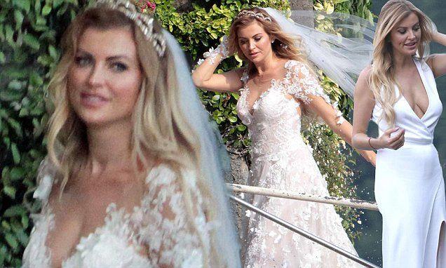 Page 3 Model Sam Cooke Sports VERY Racy Wedding Dress