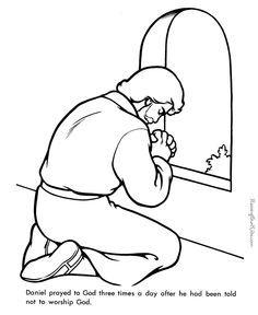 Image result for coloring page Nehemiah praying Bible Daniel