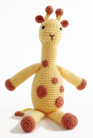 Schemi giraffa per amigurumi. | 447x300