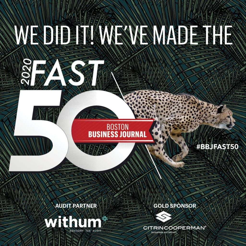 Connectpay named a 2020 fast 50 company by boston business