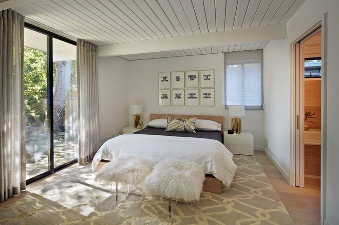 Midcentury Bedroom By Flegel S Construction Co Inc Bedroom Design Small Master Bedroom Small Master Bedroom Design Ideas