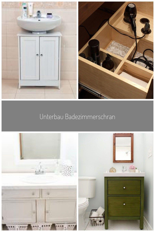 Unterbau Badezimmerschrank Schrank Waschtisch Unter Waschbecken Aufbewahrung Holz E Design Designer Designs Design In 2020 Bathroom Medicine Cabinet Cabinet Vanity