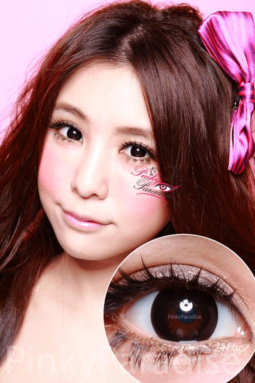 Geo Magic Black Circle Lenses Colored Contacts Pinkyparadise Circle Lenses Colored Contacts Contact Lenses Tips