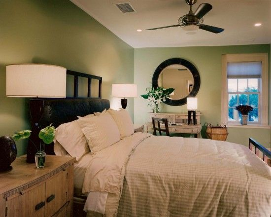 Color Inspiration Image By Emily Smith Green Bedroom