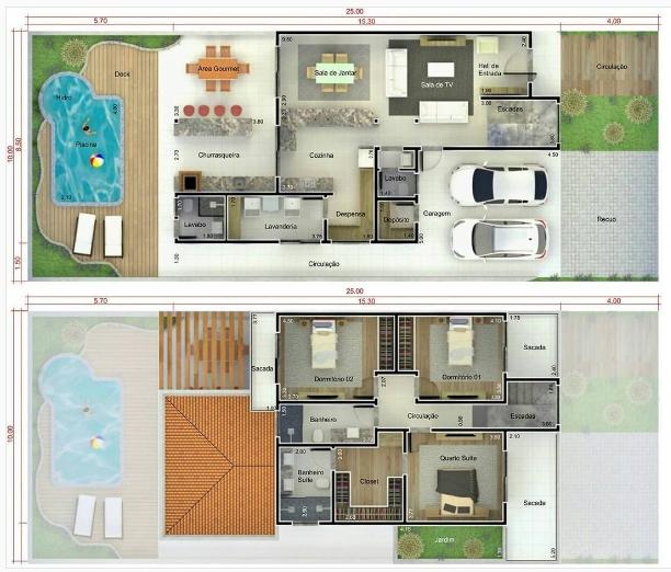 Impresionantes Conceptos De Proyectos De Diseno En Acantilados En 2020 Planos De Casas Plano Casa 2 Pisos Casas