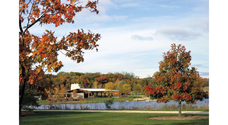 Morton Arboretum Visitor Center . Woodhouse Tinucci