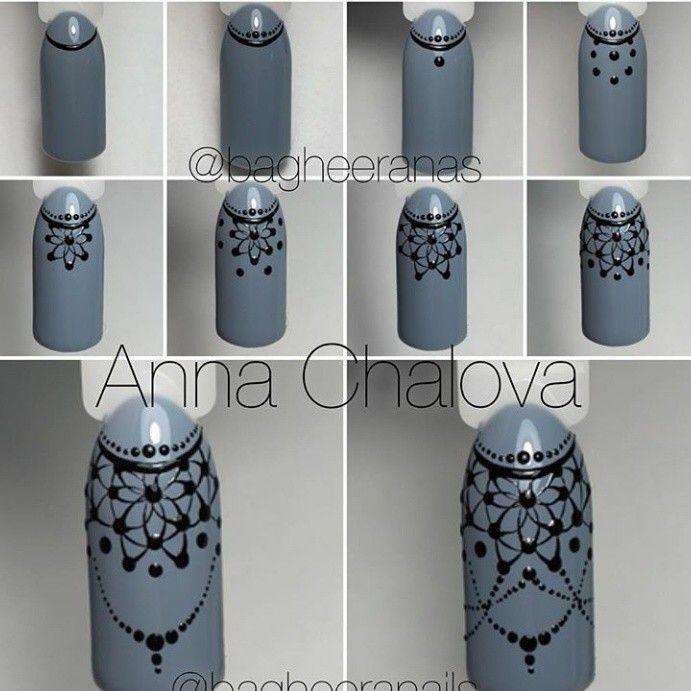 Nail Art # маникюр # ногти # nails # nail # дизайн ногтей # гель лак # гель # гелевые ногти # шеллак#кружево#