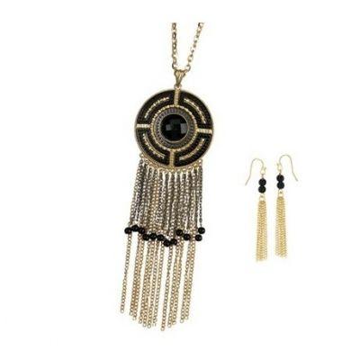 916038901261 Venta de Joyería por catalogo Tissini - ALICIA Set Collar Negro ...