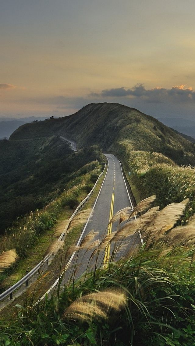 Mountain Top Road World Iphone 5s Wallpaper Download Iphone 5