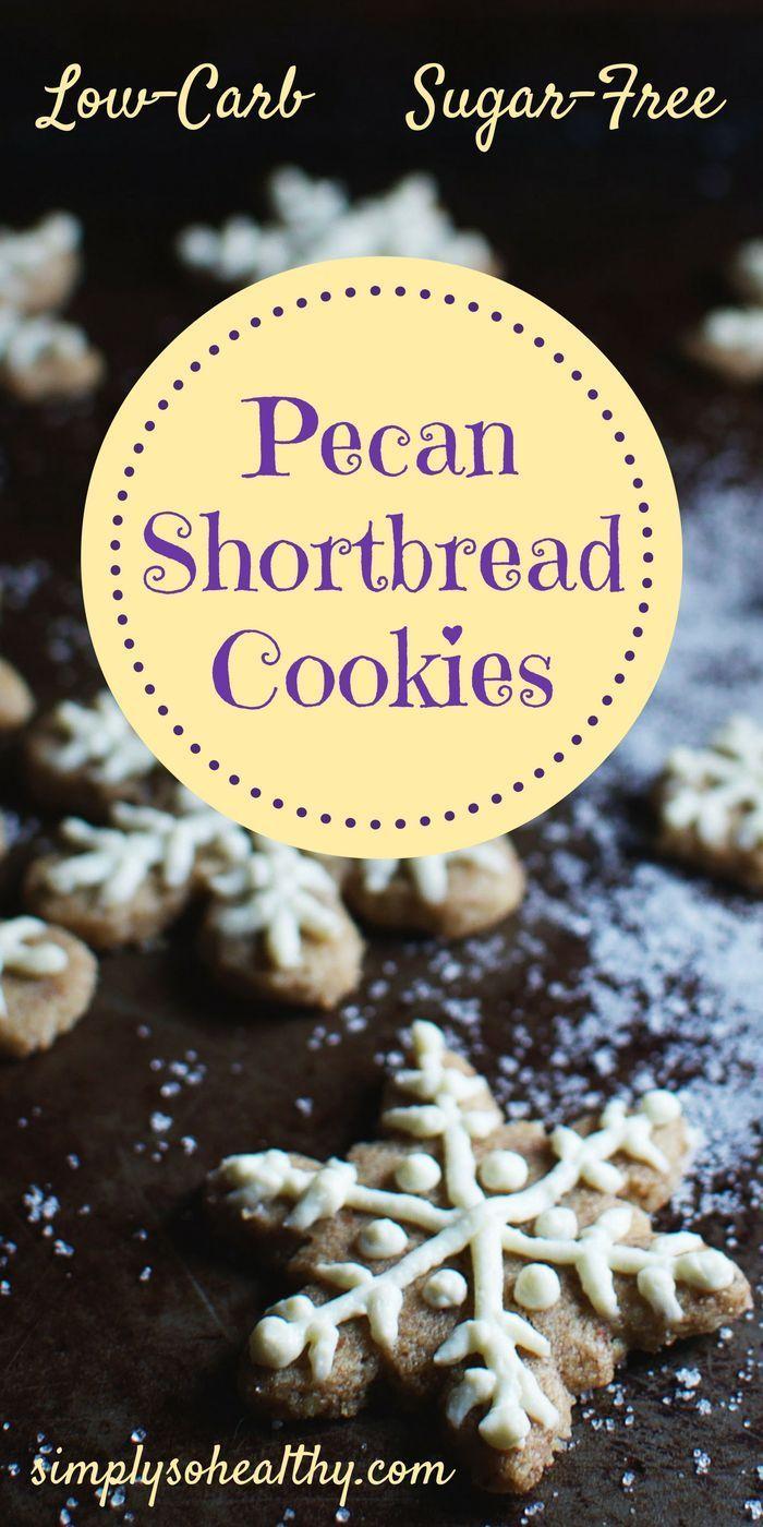 Low Carb Pecan Shortbread Cookies Recipe Pecan Shortbread