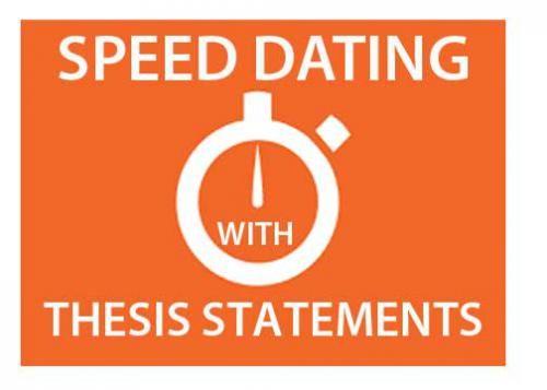 Speed dating essay