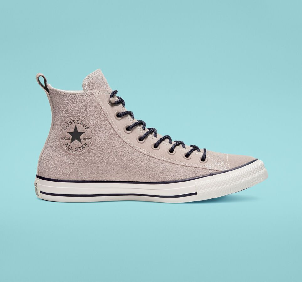 Chuck Taylor All Star Suede High Top HummusAlmost Black