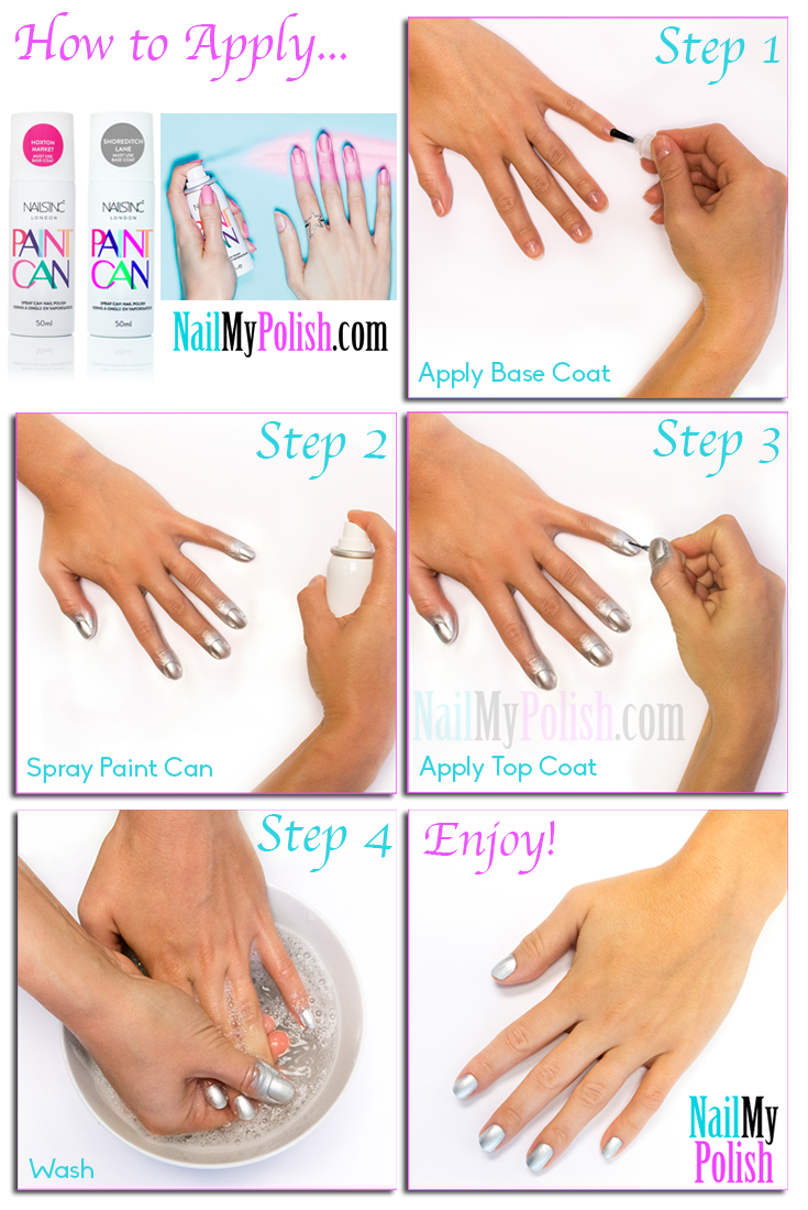Learn All About Nails Inc Paint Can Spray Nail Polish By Visiting Http
