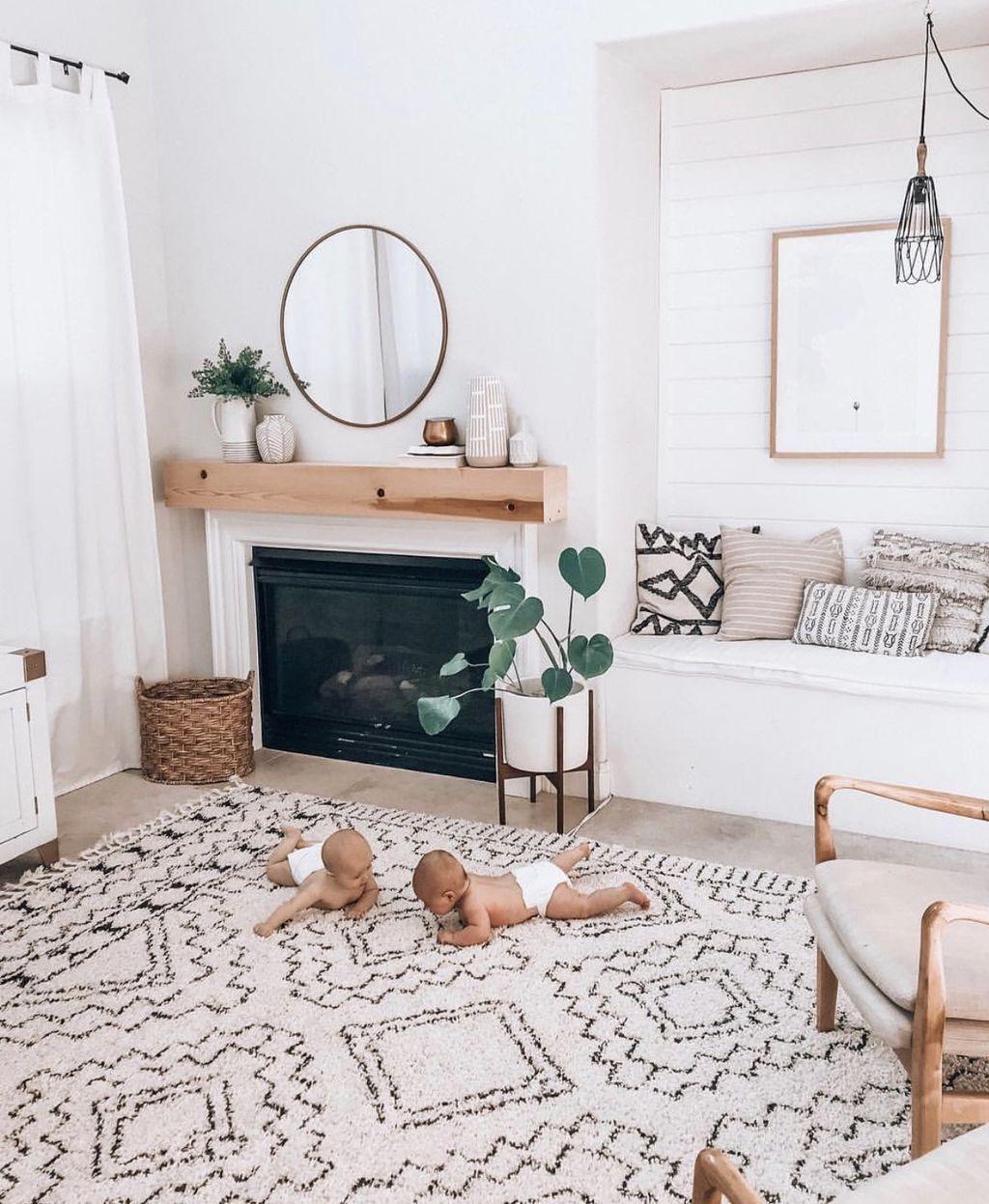 33 Stunning Bohemian Living Room Design Ideas images