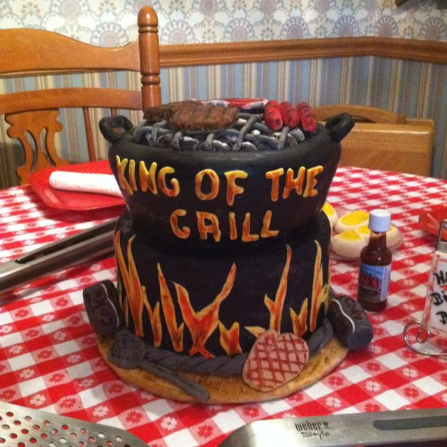 Barbecue Grill Cake Cakes And More Wedding Cake