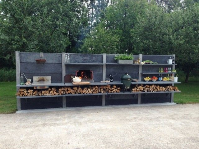 Außenküche Selber Bauen Beton : Inspiration outdoor küche beton und schöne dade design aussenküche
