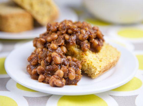 Easy Baked Beans (vegan)
