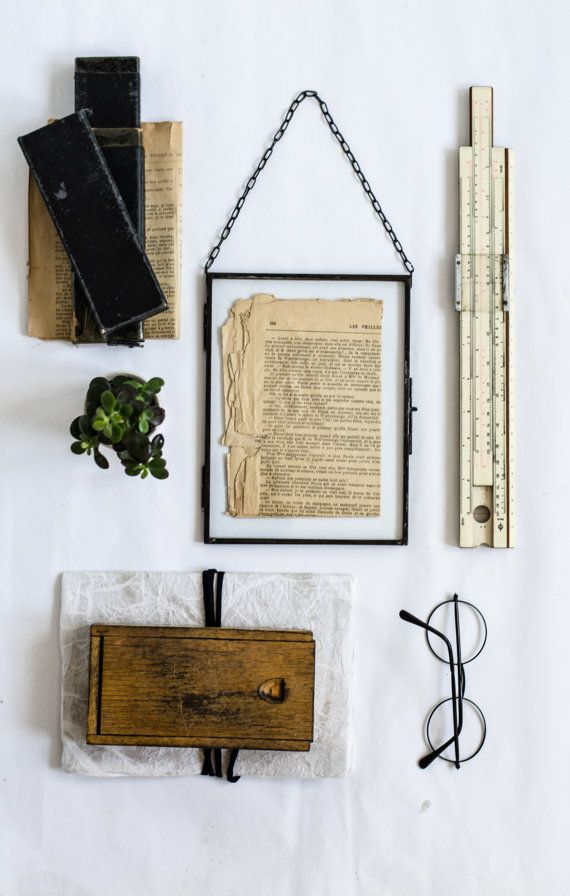 GLASS FRAME minimalist and elegant by AGNETHAHOME on Etsy | home ...
