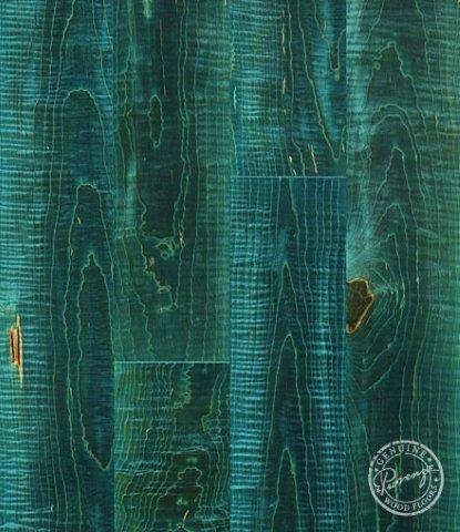 Provenza Hardwood Flooring - Turquoise Mosaic