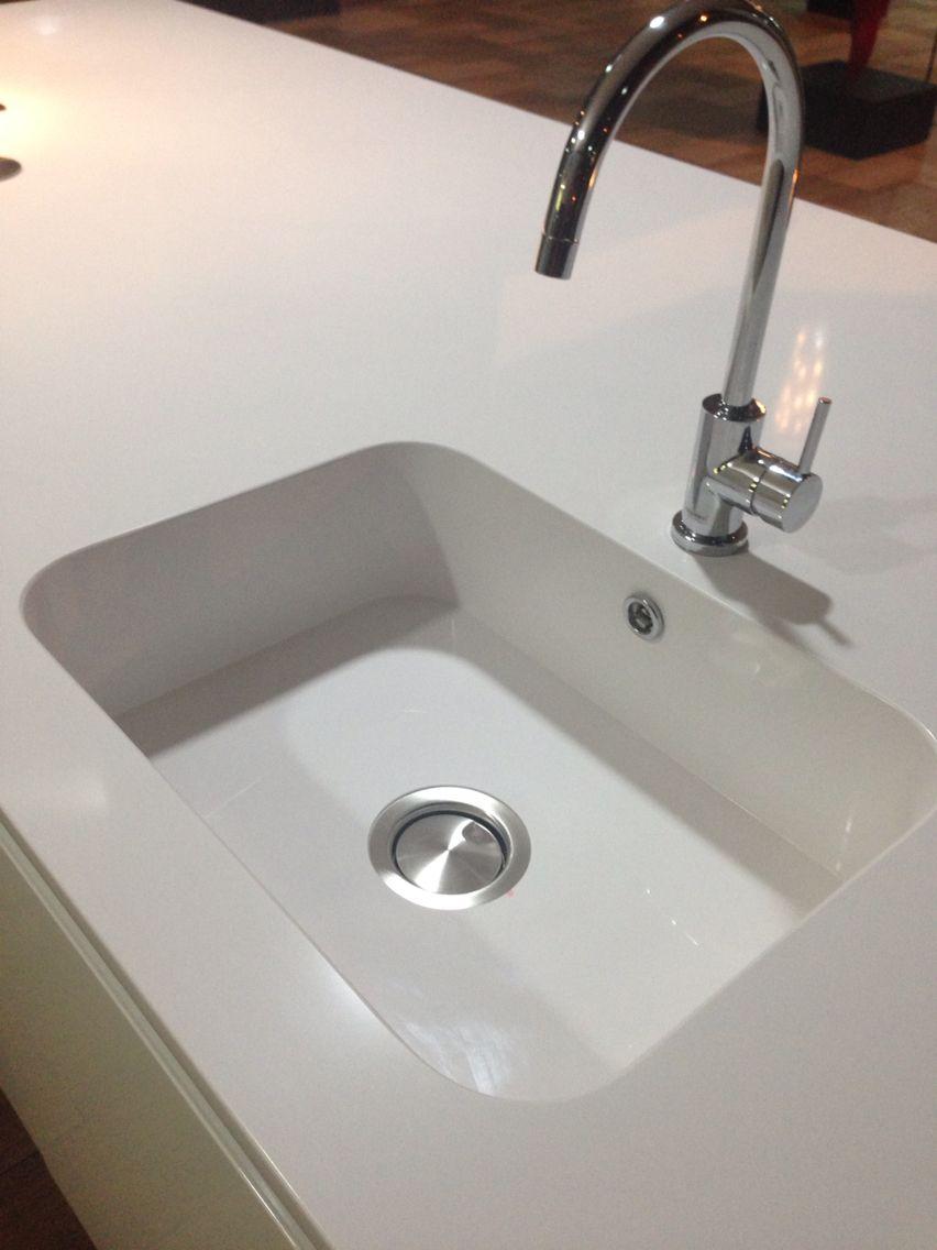Lavat rio de cozinha integrity silestone branco zeus for Silestone sink