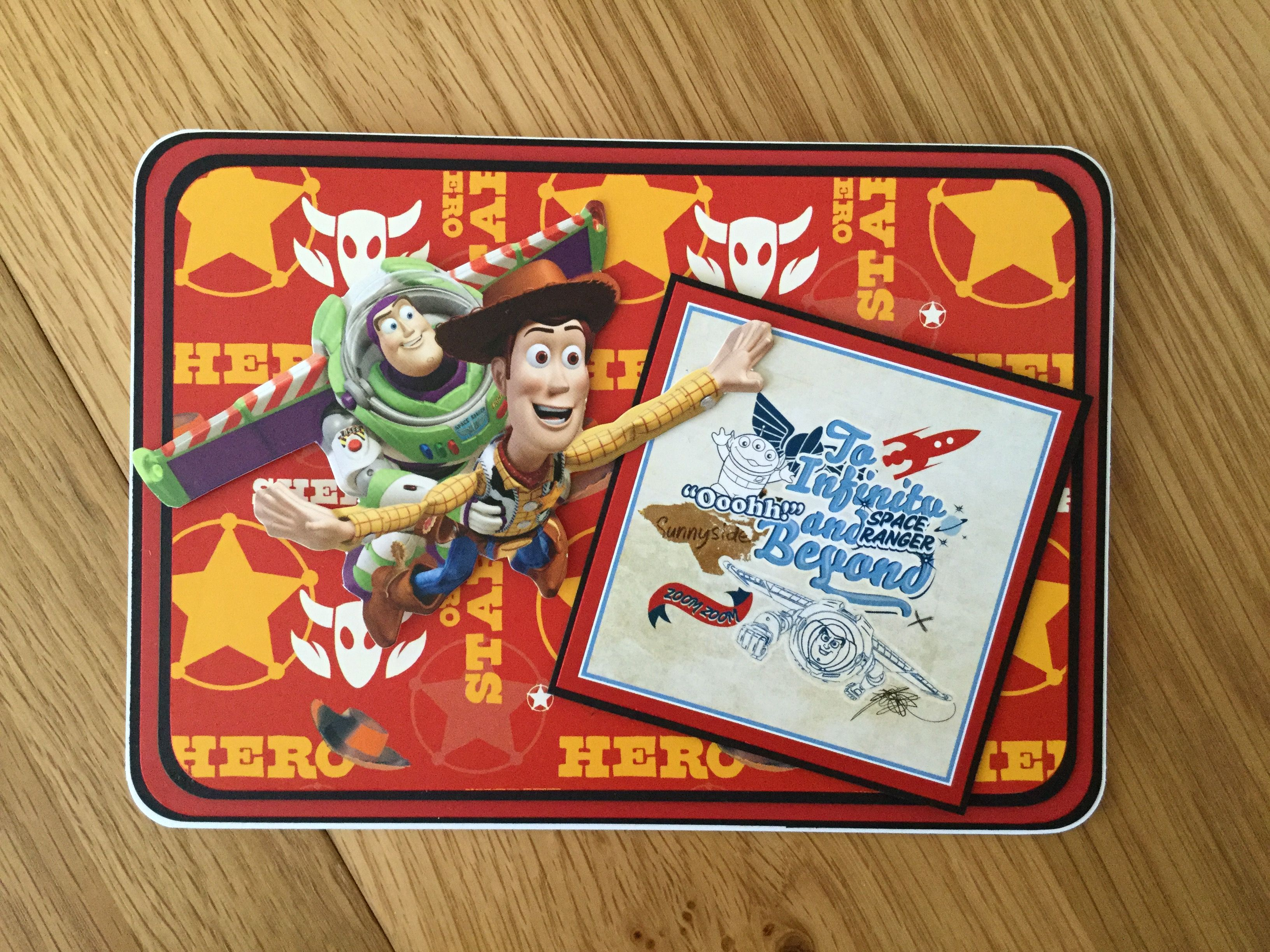 Toy Story Birthday Card Toy Story Birthday Kids Cards Boy Cards