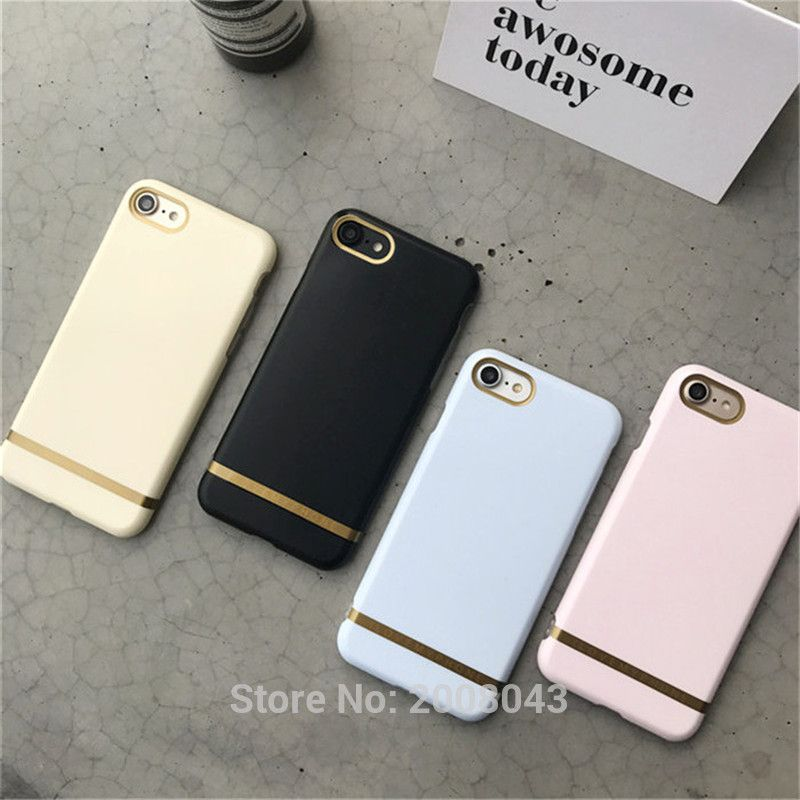 Candy Color Gold Bar Phone Case For iPhone 7 6 6S 6 6S Plus Soft TPU ... 4da73ed8f12