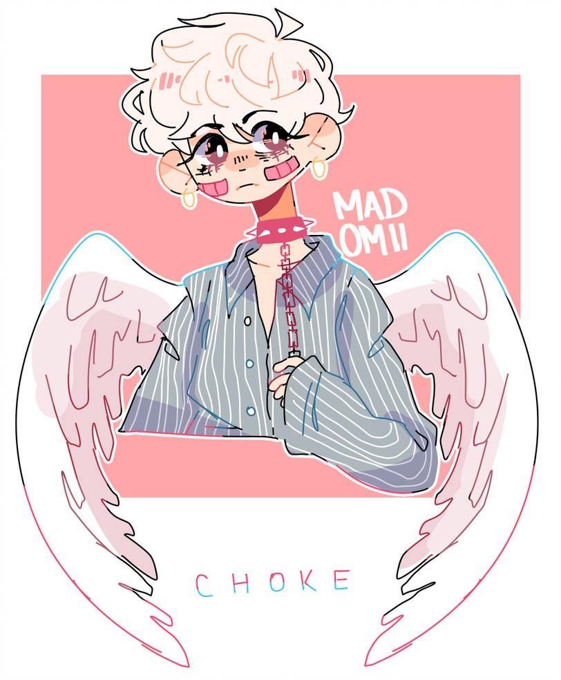 Choke By Madomii Cute Art Styles Cute Art Cartoon Art