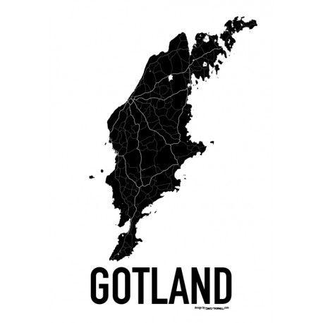 Karta Gotland Poster Hitta Dina Posters Online Hos Gotland
