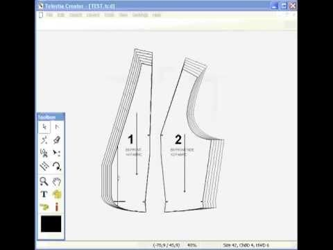 CAD Pattern Grading Software - YouTube | Tools | Pinterest ...