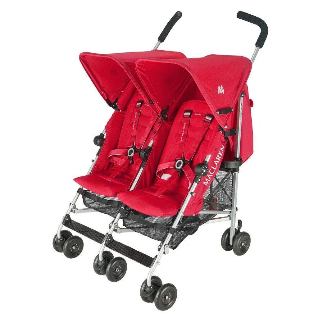 Maclaren Twin Triumph Umbrella stroller, Double umbrella