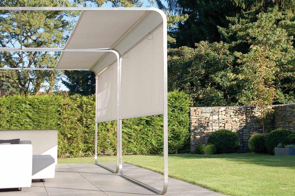 Aufrollbares Verstellbares Design Sonnensegel Als Flexibler Wind