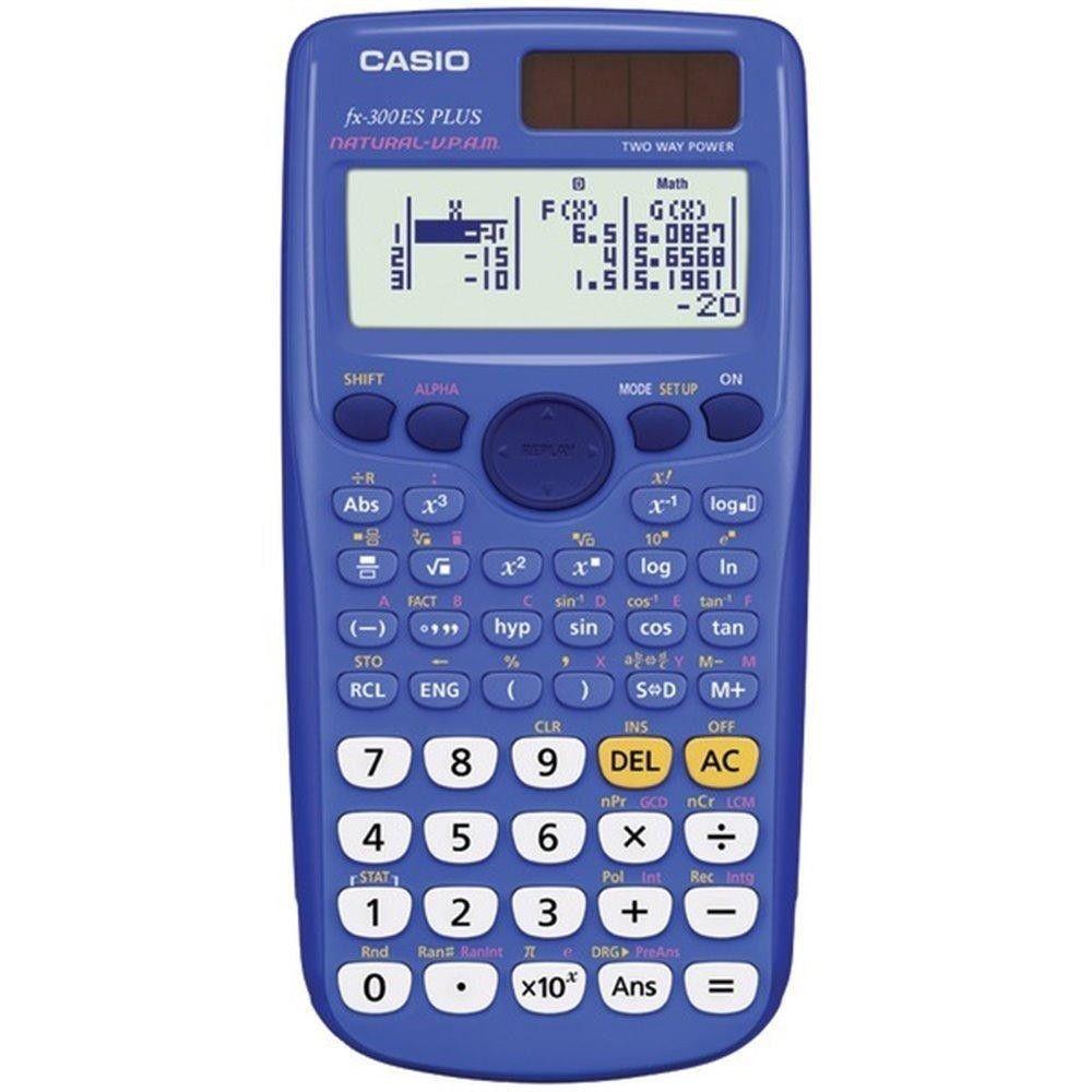 Casio FxEsplusBlu Fraction  Scientific Calculator Blue