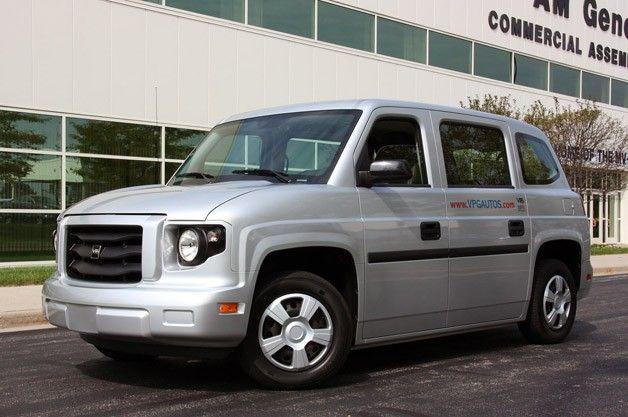 MV-1 van back in production